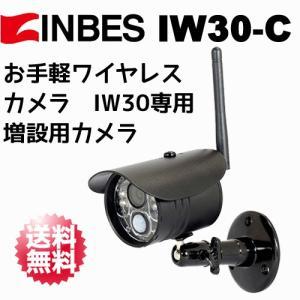 INBES(インベス) ワイヤレスカメラシステム IW30 専用 増設用カメラ IW30-C|arkham
