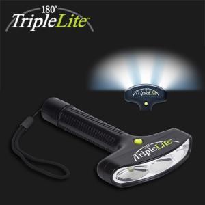 【TripleLite】3灯 180度 LEDフラッシュライト トリプルライトmini「Triple LITE mini」|arkham