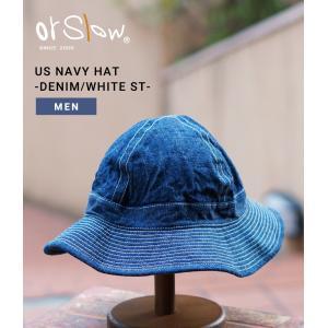 988eb821812 orslow  オアスロウ US NAVY HAT -DENIM WHITE ST-(ユーエス ネイビー ハット デニム 帽子)03-001-81W