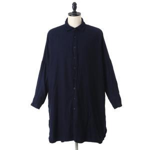 CASEY CASEY(ケイシー ケイシー) / CASH 1 LONG SHIRT (ケイシー ロングシャツ ウールシャツ シュミーズ) 09FC68|arknets
