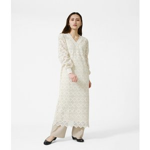 CLANE / クラネ : VINTAGE LACE LOOSE ONE PIECE : 10112-5162|ARKnets