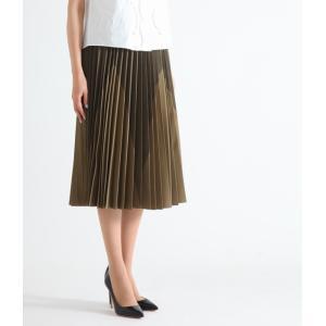 beautiful people [ビューティフルピープル] / pe. taffta star pleats skirt (タフタ スター プリーツ ミモレ丈 スカート) 1645107003|arknets