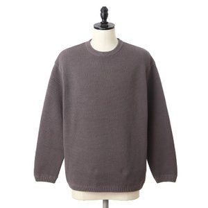 crepuscule [クレプスキュール] /Moss Stitch L/S / 全3色 (クレプスキュール ミラノ モスステッチ ロングスリーブ) 1703-002|arknets