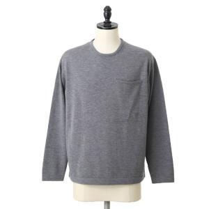 crepuscule [クレプスキュール] /Pocket L/S Knit / 全2色 (クレプスキュール ポケットニット ロングスリーブ) 1703-006|arknets