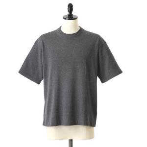 crepuscule クレプスキュール knit tee S S 全2色 ニットT ショートスリーブ...