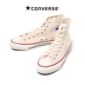 CONVERSE (コンバース) / CANVAS ALL STAR J HI -ホワイト-(オールスター メイドインジャパン スニーカー シューズ 靴)32068430|arknets