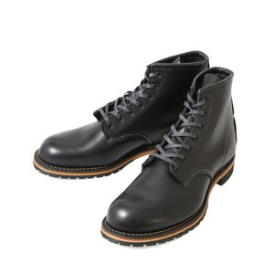 """RED WING(レッドウィング) / BECKMAN 6"""" ROUND -BLACK- (ベックマン ブーツ 雨の日 leather-fair-shoes ワークブーツ)9414