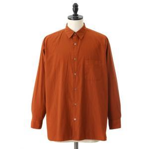 MARKAWARE[マーカウェア]/ REGULAR COLLAR SHIRTS COMFORT-FIT (レギュラーカラーシャツ コンフォードフィット コットンシャツ) A18A-09SH03C|arknets