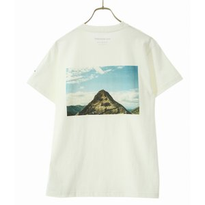 【20%OFF】and wander / アンドワンダー : mountain photo T by Tetsuo Kashiwada : AW01-JT145【宅急便コンパクト】|ARKnets