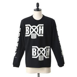 BOUNTY HUNTER(バウンティーハンター) / BxH Logo L/S Tee(バウンティーハンター ロゴ 長袖 シャツ カットソー)BHLC1709-9 arknets