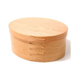 BRENT ROURKE [ブレント ルーク] / oval shaker box-c+ -Type E- (29.5cm×23cm×13.5cm) (ウッド シェーカー ボックス 箱 収納 ギフト) BR001-5|arknets