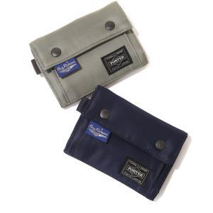 BUZZ RICKSON'S (バズリクソンズ 東洋エンタープライズ ) / BUZZ RICKSON'S × PORTER Nylon Fabric Trifold Wallet / 全2色(財布)BR02534 arknets