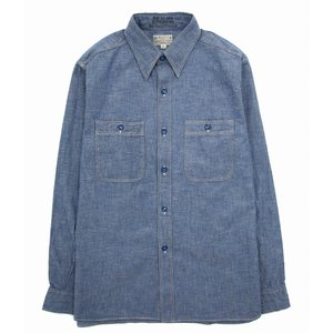 BUZZ RICKSON'S (バズリクソンズ 東洋エンタープライズ ) / BLUE CHAMBRAY WORK SHIRT(ブルーシャンブレーワークシャツ シャツ 長袖)BR25995 arknets
