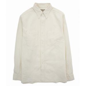 BUZZ RICKSON'S (バズリクソンズ 東洋エンタープライズ ) / WHITE CHAMBRAY WORK SHIRT(ホワイトシャンブレーワークシャツ シャツ 長袖)BR25996 arknets