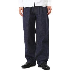 Graphpaper [グラフペーパー] / Colorfast Denim Two Tuck Pants(カラーファストデニムテュータックパンツ) GM173-4013B arknets