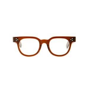 JULIUS TART OPTICAL(ジュリアスタートオプティカル)FDR44 46 48 - BROWN CRYSTAL / CLEAR -(サングラス メガネ 眼鏡 ) JTPL-005D-006D-wise|arknets