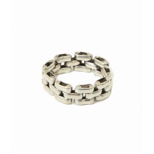 LAVER [ラバー] / 3 LINK RING (シルバー アクセサリー リング 指輪) LAVER-NO-17 arknets