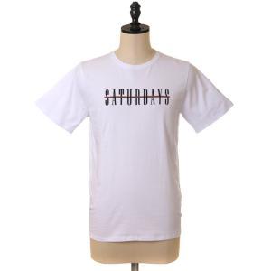 SATURDAYS SURF NYC (サタデーズ サタデーズサーフ NYC) / Bar Across S/S Tee(TEE Tシャツ 半袖 ティーシャツ カットソー)M51729PT01-re|arknets