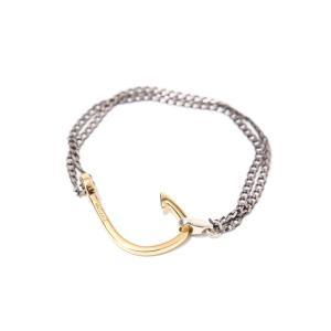 MIANSAI [ミアンサイ] / Gold Planted Hook Chain (チェーン ブレスレット ミアンサイ マイアンサイ)MB0001CG【楽ギフ_包装】 arknets