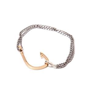 MIANSAI [ミアンサイ] / Rose Gold Planted Hook Chain (チェーン ブレスレット ミアンサイ マイアンサイ)MB0001CR【楽ギフ_包装】 arknets