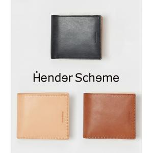 Hender Scheme / エンダースキーマ : half folded wallet / 全3...
