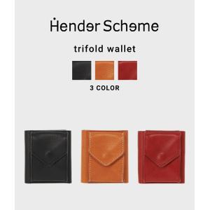 Hender Scheme / エンダースキーマ : trifold wallet  : エンダース...