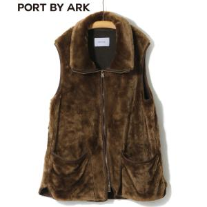 PORT BY ARK [ポートバイアーク] / fur vest / (ポートバイアーク クラシック ファーベスト ベスト ファー ライナー)P-02001|arknets