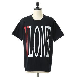 VLONE(ヴィーローン) / VLONE LOGO TEE BLACK(ショート スリーブ Tシャツ 半袖)VLONE-NO5-ITEM|arknets
