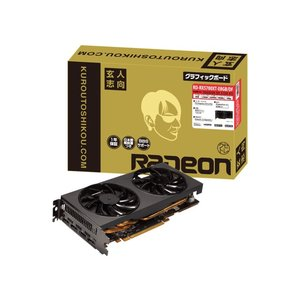 玄人志向 RD-RX5700XT-E8GB/DF RADEON RX 5700 XT 8GB 256...