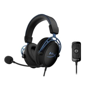 Kingston HyperX Cloud Alpha S - Gaming Headset (Bl...
