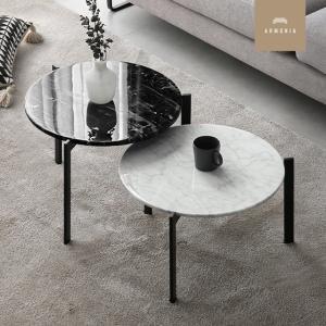 大理石テーブル ローテーブル セパレート モダンインテリア Parm