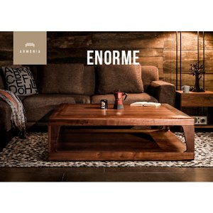 テーブル センターテーブル 北欧 モダン リビングテーブル 木製 正方形 Enorme