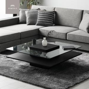 テーブル ローテーブル センターテーブル ガラステーブル シンプル 北欧 カフェ|armonia