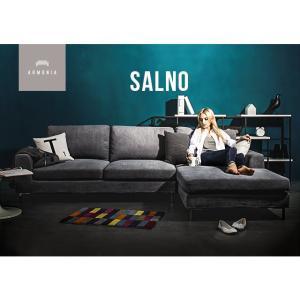ソファ ソファー カウチソファー 三人掛け L字  ローソファー デザイナーズ 北欧 カフェの写真