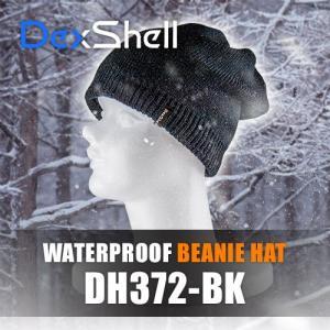 DexShell デックスシェル 防水 ビーニー帽 DH372-BK armorjapan