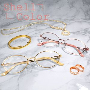ブルーライトカット 中近両用メガネ シェルカラー[全額返金保証] 老眼鏡 眼鏡 女性 用 シニアグラス レディース おしゃれ リーディンググラス|armsstore