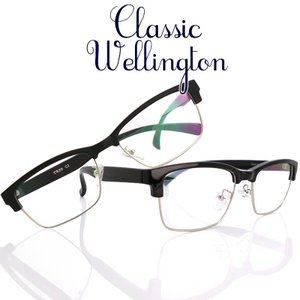 TRクラシック ウェリントン 遠近両用メガネ[全額返金保証] 老眼鏡 おしゃれ 男性用 中近両用 眼鏡 遠近両用 老眼鏡 シニアグラス|armsstore