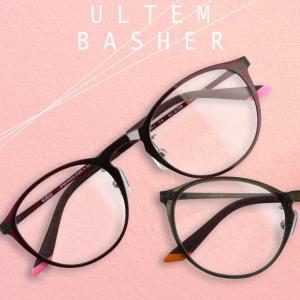 ウルテム バシャー(KU010) 遠近両用メガネ[全額返金保証] 老眼鏡 おしゃれ 女性 男性 中近両用 眼鏡 遠近両用 老眼鏡 シニアグラス|armsstore