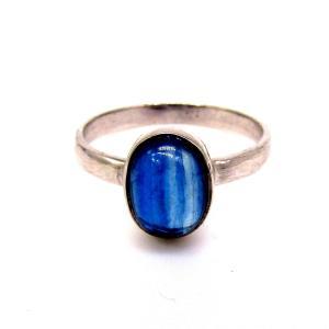 天然カイヤナイト リング (指輪) silver925|arnavgems