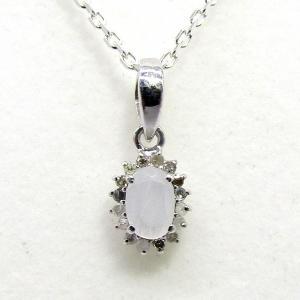 ダイヤモンド 6月:誕生石  ムーンストーン Silver925 ペンダントトップ ※チェーン含まず|arnavgems