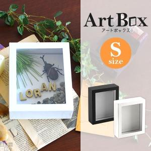 標本箱 ギフトボックス ウェルカムボード 結婚式 ラッピング用品 フレーム 工作 図工 ディスプレイ インテリア ギフト アートボックス Art box Sサイズ|arne-rack