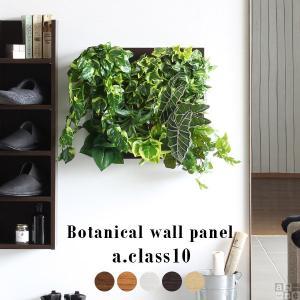 光触媒 壁掛け 光触媒観葉植物 アートパネル 北欧 おしゃれ 人工観葉植物 造花 フェイクグリーン Botanical a.class 10|arne-rack