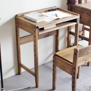 テーブル デスク 机 子供 子供部屋 キッズ キッズ家具 木製 アンティーク レトロ おしゃれ new arc ハイローデスク コンパクト 学習机|arne-rack