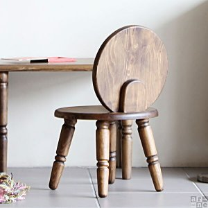 イス 椅子 チェア ローチェア 子供 子供部屋 キッズ キッズ家具 木製 アンティーク レトロ おしゃれ new arc ミニチェアー コンパクト|arne-rack