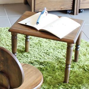 テーブル 机 子供 子供部屋 キッズ キッズ家具 木製 アンティーク レトロ おしゃれ new arc ミニテーブル コンパクト ミニ 北欧|arne-rack