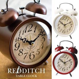 置時計 アナログ アンティーク 目覚まし時計 おしゃれ アラーム CL-7552 REDDITCH TABLE CLOCK レディッチ レトロ アンティーク モダン|arne-rack