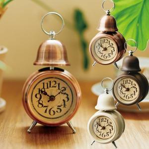 目覚まし時計 おしゃれ 時計 CL-7994 テーブルクロック ORLY オルリー アラームクロック クロック ブロンズ/ゴールド/アイボリー|arne-rack