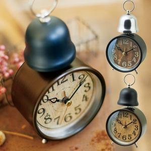目覚まし時計 おしゃれ 時計 CL-7995 テーブルクロック MARC マルク アラームクロック クロック ブラック/ゴールド|arne-rack