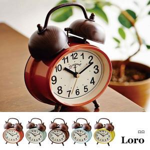 置時計 おしゃれ 北欧 プレゼント 置き時計 アンティーク レトロ 時計 置時計 インテリア  CL-9366 Loro テーブルクロック|arne-rack