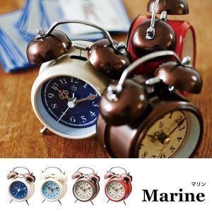 置時計 おしゃれ 北欧 プレゼント 置き時計 アンティーク レトロ 時計 置時計 インテリア  CL-8950 Marine テーブルクロック|arne-rack